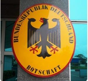 La embajada de Alemania en Malabo, cierra sus puertas