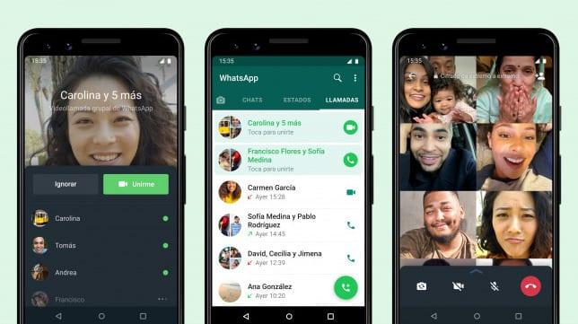 WhatsApp añade una nueva función para que no te pierdas ninguna videollamada grupal