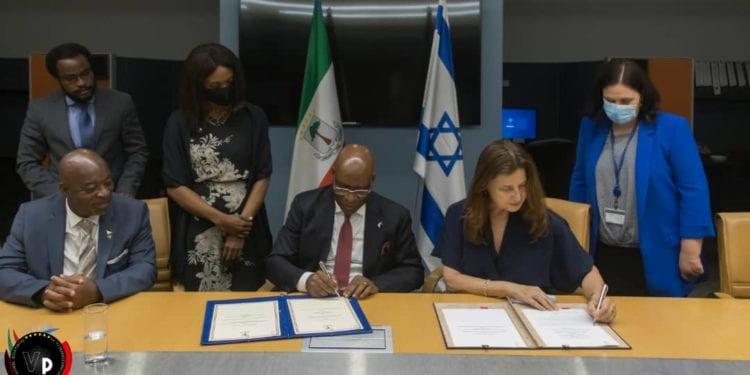 Guinea Ecuatorial e Israel firman varios acuerdos de cooperación bilateral