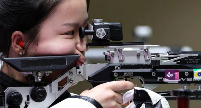 China ganó la primera medalla de oro de Tokio 2021 con récord olímpico en tiro