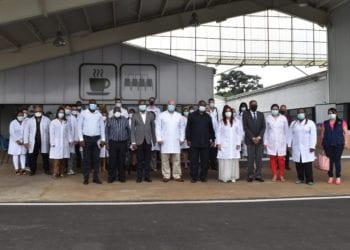 """La brigada médica """"Henry Reeve"""", celebra su primer aniversario en Guinea Ecuatorial"""