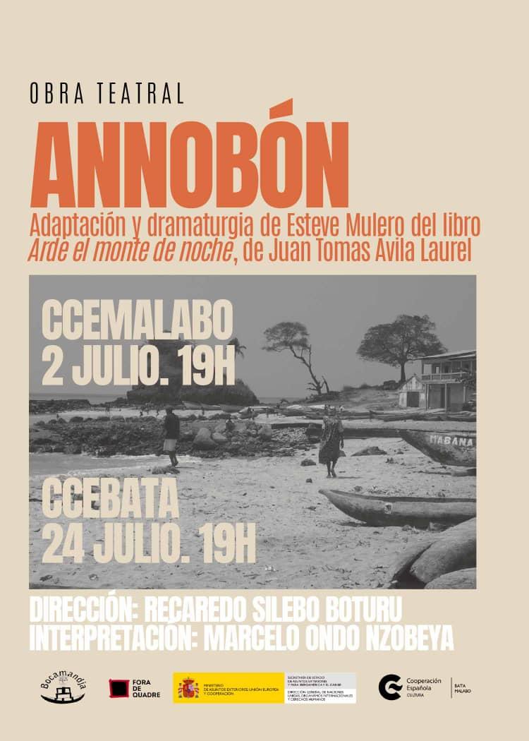 Bocamandja vuelve a los escenarios este viernes con la obra Annobon después de 6 meses