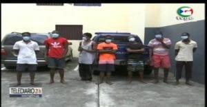 La policía de Bata detiene a una mujer y a un joven por estafar a la población