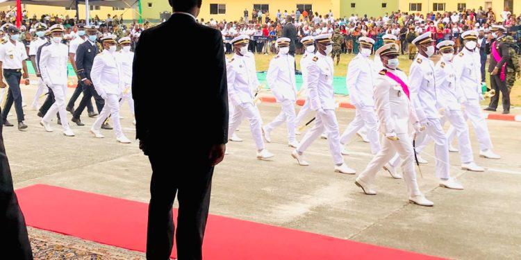 Ceremonia de graduación de los 435 Oficiales y Suboficiales egresados de la EMIGO, Escuela Naval de TICA y otras academias