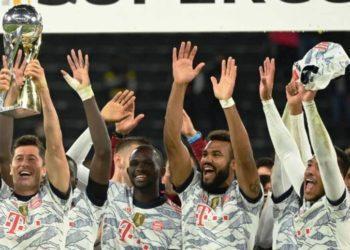 3-1: Bayern Múnich se proclama campeón de la Supercopa de Alemania 2021 ante el Borussia Dortmund.