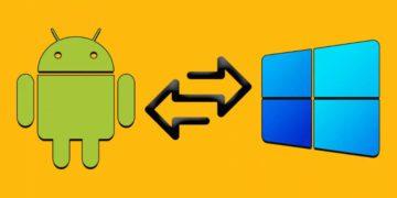 Cómo pasar archivos entre Android y Windows 10