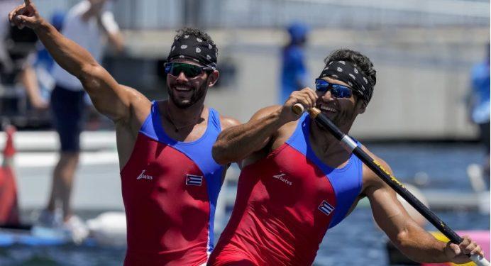 Cuba sorprende y se lleva el oro en canoa doble 1.000 metros