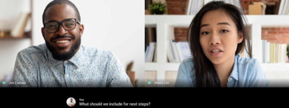Cómo activar los subtítulos en una videollamada de Google Meet