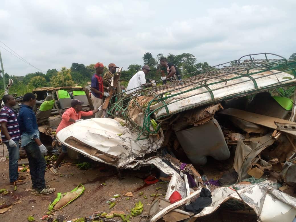 Accidente de circulación con al menos 30 muertos en Camerún