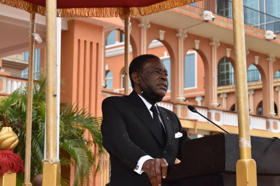 El cuerpo castrense de Guinea Ecuatorial celebra la Pascua Militar