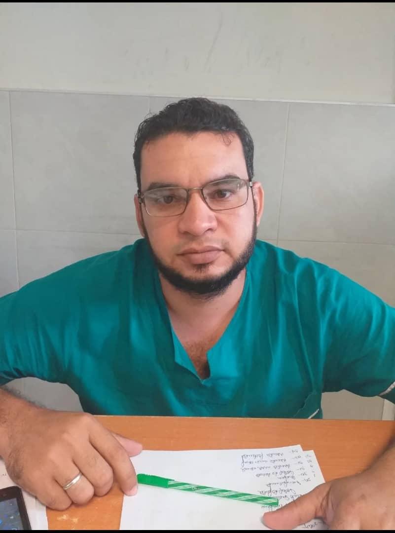 Doctor Antonio Mendoza, médico Gineco-Obstetra