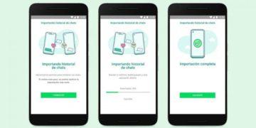 WhatsApp por fin permite pasar los chats entre iPhone y Android