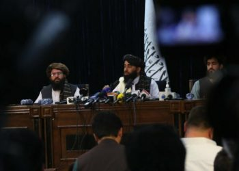 17-08-2021 Rueda de prensa de los talibán en Kabul POLITICA ASIA INTERNACIONAL AFGANISTÁN STRINGER / XINHUA NEWS / CONTACTOPHOTO