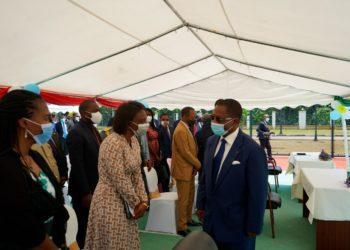 PNUD y el Gobierno asisten a la ceremonia de graduación de los primeros egresados del Instituto Superior de Telecomunicaciones de Djibloho