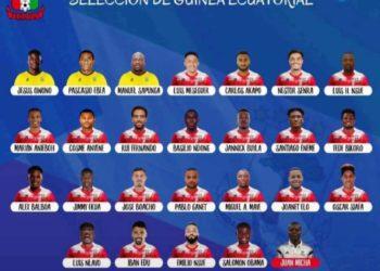 El seleccionador del Nzalang Nacional, publica la convocatoria para las eliminatorias del Mundial Qatar 2022