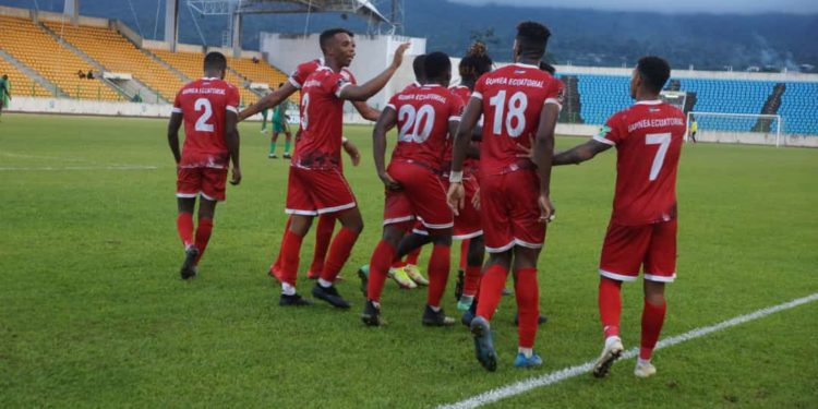 1-0: Guinea Ecuatorial consigue 3 puntos contra Mauritania en el estadio de Malabo