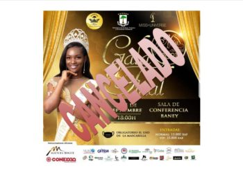 ÚLTIMA HORA: Se cancela la gala final de Miss Guinea Ecuatorial 2021