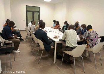 Encuentro de planificación de las nuevas directrices de la Universidad Afro-Americana de África Central