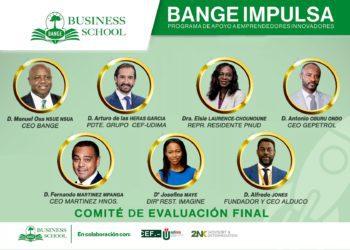 BANGE IMPULSA comunica la composición del jurado que determinará los proyectos ganadores