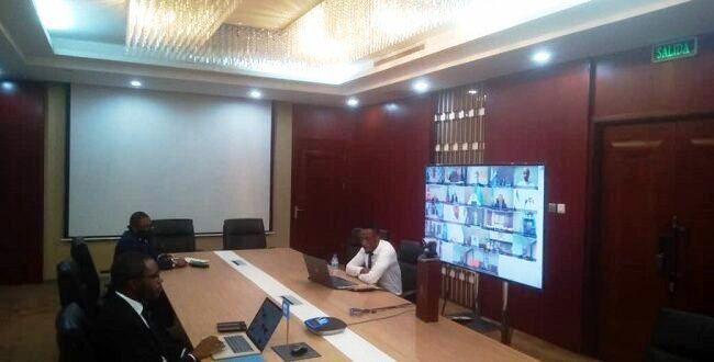 Mbaga Obiang Lima participa en la 20th reunión de ministros de la OPEP Y NO de la OPEP