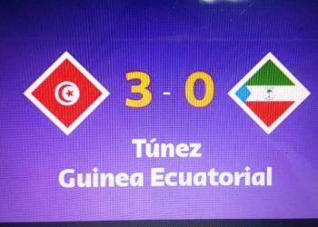 Futbol: 3 – 0, Guinea Ecuatorial pierde ante Túnez